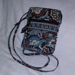 Small Vera Bradley Brown Crossbody